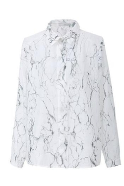 Marble Print Shirt by FRNCH in Master of None