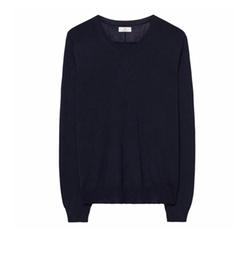 Diamond G Merino Silk V-Neck Sweater by Gant in Death Wish