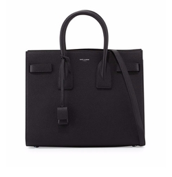 Sac de Jour Small Leather Tote Bag by Saint Laurent in Suits