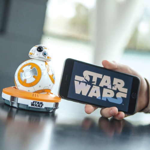 BB-8 App-Enabled Droid Robot by Sphero in Star Wars: The Force Awakens
