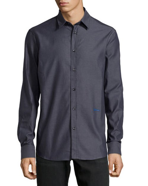 Long-Sleeve Dress Shirt by Just Cavalli in John Wick