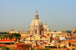 Rome, Italy by San Carlo al Corso in Spy