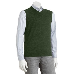 Modern-Fit Merino Sweater Vest by Apt. 9 in Mean Girls