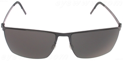 8576 Sunglass by Linberg in Blackhat
