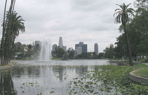 Echo Lake Park Los Angles, California in Supergirl - Season 1 Episode 7 - Human For A Day