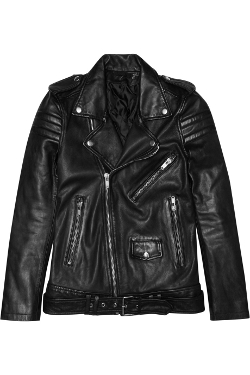 Leather Biker Jacket by BLK DNM in Terminator: Genisys