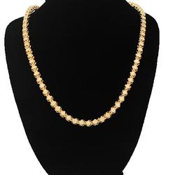 Diamond Tennis Chain by Avianne Jewelers in Ballers