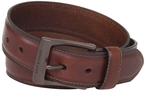 Men's Leather Belt With Padded Center by Levi's in 99 Homes