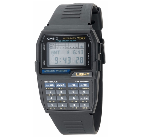 Databank Digital Watch by Casio in The Flash - Season 3 Episode 1
