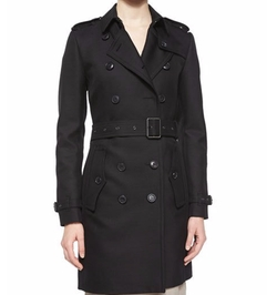 Bramington Feminine Belted Trench Coat by Burberry Brit in Mr. & Mrs. Smith