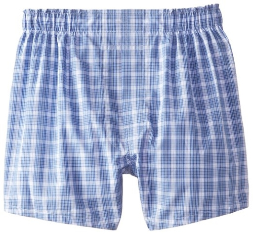 Plaid Boxer Shorts by Brooks Brothers in Boyhood