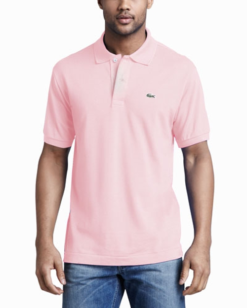 Classic Pique Polo, Light Pink by Lacoste in Mean Girls