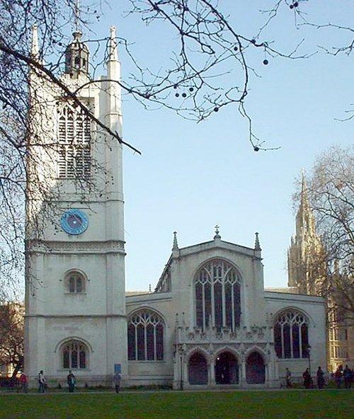 St Margaret's Church London, United Kingdom in Fast & Furious 6