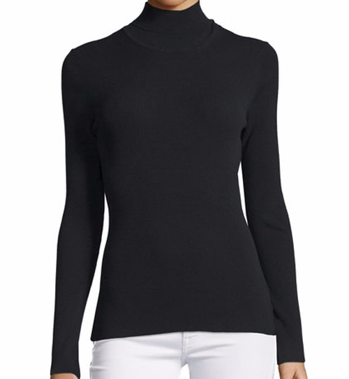 Long-Sleeve Turtleneck Top by Michael Kors Collection in Keeping Up With The Kardashians