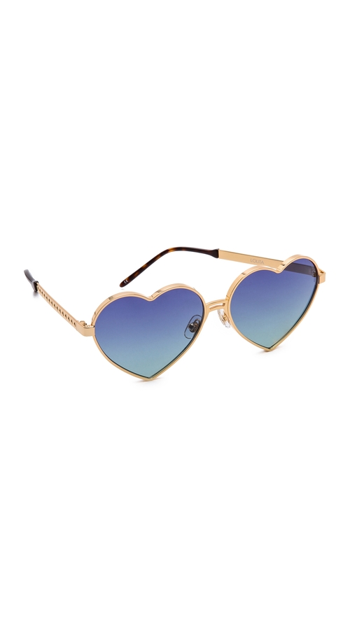 Lolita Sunglasses by Wildfox in Jem and the Holograms