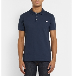 Cotton-Piqué Polo Shirt by Maison Kitsuné in Fantastic Four