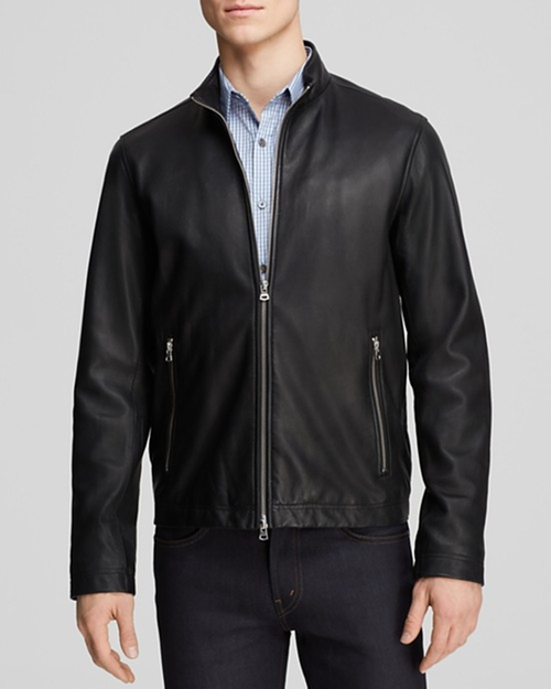 Kelleher Morvek L Leather Jacket by Theory in The Good Wife - Season 7 Episode 5