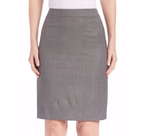 Blurred Focus Pencil Skirt by Boss in Suits - Season 6 Episode 8