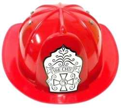 Plastic Fireman Play Hat by Toysmith in Love & Mercy