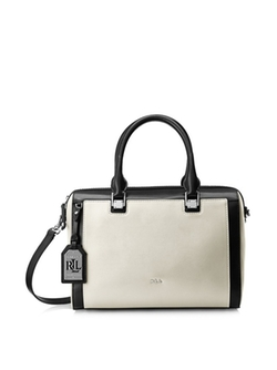 Ashford Colorblock Satchel Bag by Lauren Ralph Lauren in How To Get Away With Murder