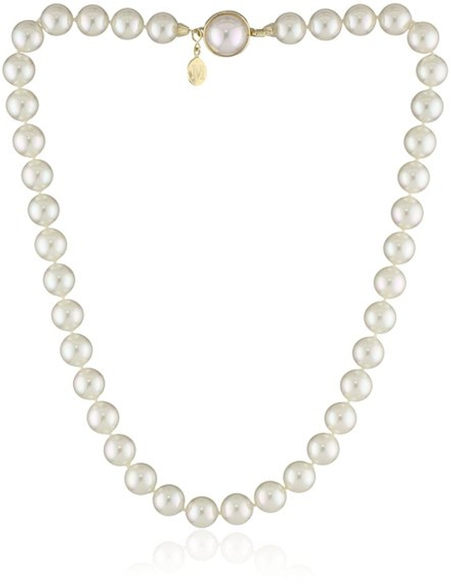 Pearl Necklace by Majorica in Bridesmaids