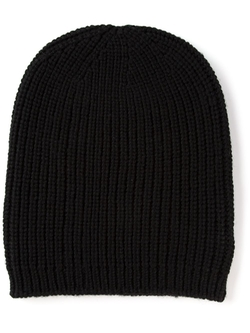 Ribbed Knit Beanie Hat by P.A.R.O.S.H. in Pretty Little Liars
