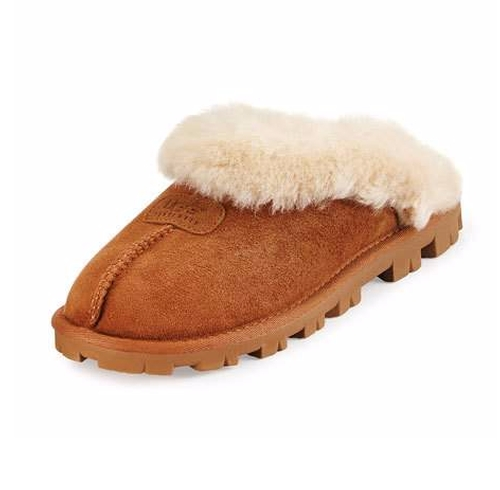 Coquette Shearling Mule Slippers by UGG in The Good Place - Season 1 Episode 3