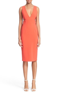 'Rikki' Cutout Midi Dress by Alice + Olivia in Pretty Little Liars