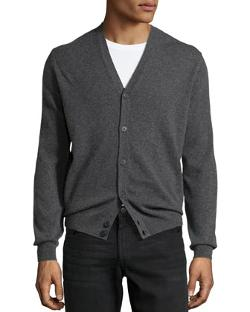 Cashmere V-Neck Cardigan by Neiman Marcus in Lee Daniels' The Butler