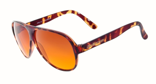 Demi-Tortoise 2725k Original Aviator Sunglasses by Blublocker in The Hangover