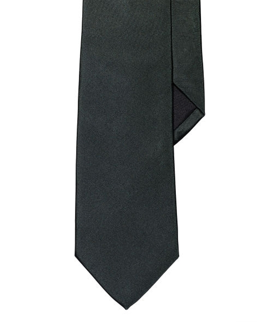 Solid Peau De Soie Tie by Ralph Lauren in Life
