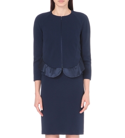 Satin-Peplum Jersey Jacket by Armani Collezioni in How To Get Away With Murder