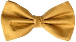 Pre-Tied Bow Tie by Supgod in Black-ish