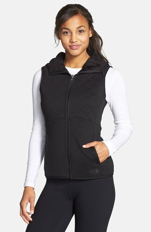 'Caroluna' Reversible Hooded Vest by The North Face in Quantico - Season 1 Episode 6