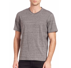 Nomad V-Neck Tee by Robert Graham in Ballers