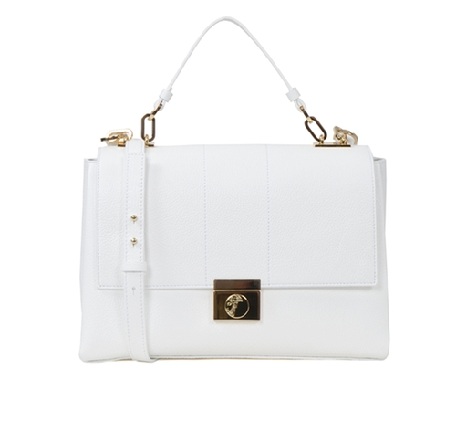 Flap Top Shoulder Bag by Versace in Scandal - Season 5 Episode 17