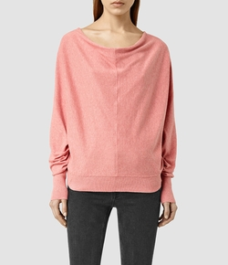 Elgar Cowl Neck Sweater by All Saints in Mistresses