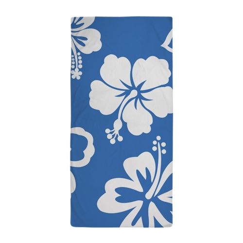 Hibiscus Pattern Beach Towel by Best Gear in The Overnight