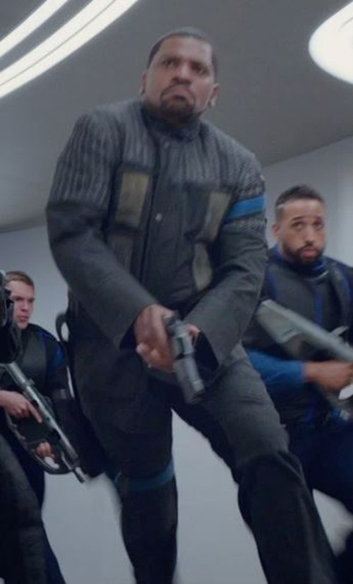 Custom Made 'Dauntless' Battle Uniform Jacket  (Max) by Carlo Poggioli (Costume Designer) in The Divergent Series: Insurgent