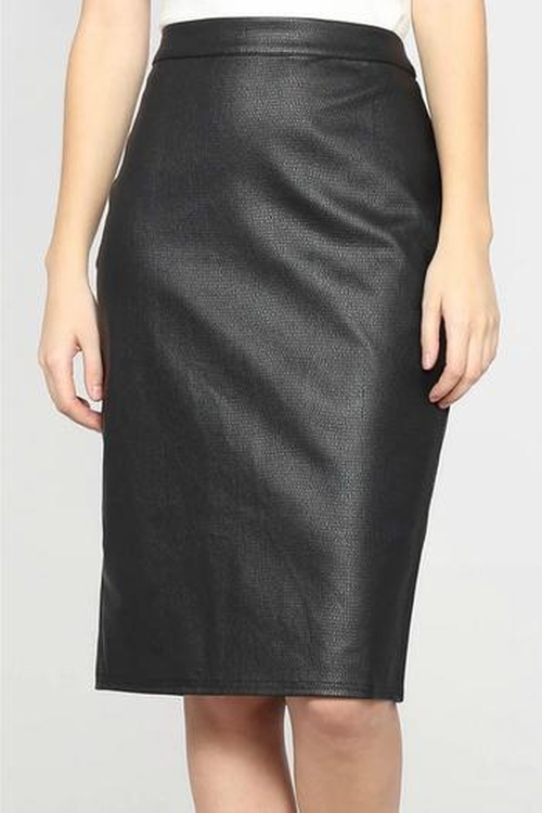 Leather Pencil Skirt by Very J in Chelsea - Season 1 Episode 4