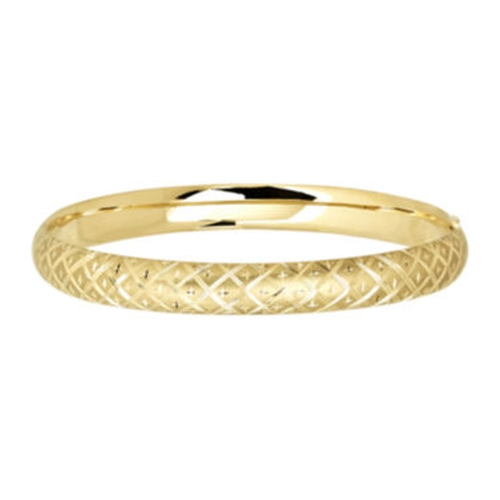 Textured Bangle Bracelet by Infinite Gold in Bridesmaids
