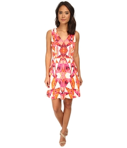 Sleeveless V-Neck Fit and Flare  Dress by Vince Camuto in The Mindy Project
