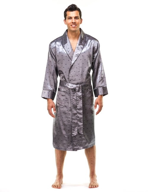 Premium Satin Robe by Noble Mount in Ashby