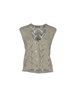 Button Cardigan by Drumohr in The Visit