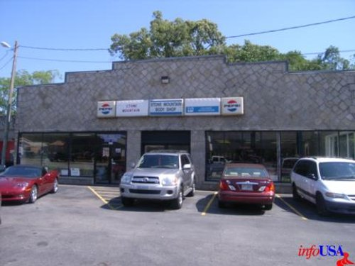 Stone Mountain Body Shop (Depicted as Marshall Motors Body Shop) Stone Mountain, GA in Need for Speed