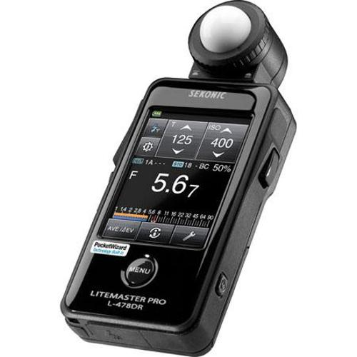 Litemaster Pro L-478DR by Sekonic in Fifty Shades of Grey