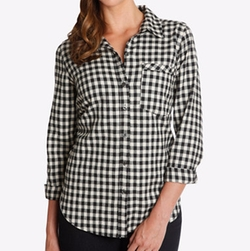 Checkered Shirt by Lucky Brand in New Girl