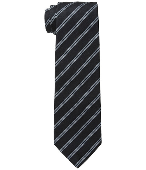 Traditional Stripe Tie by John Varvatos Star U.S.A. in The Good Wife - Season 7 Episode 12
