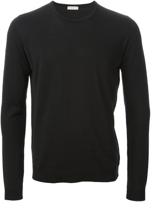 Crew Neck Sweater by Roberto Collina in Neighbors