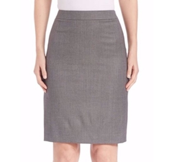Blurred Focus Pencil Skirt by Boss in Suits